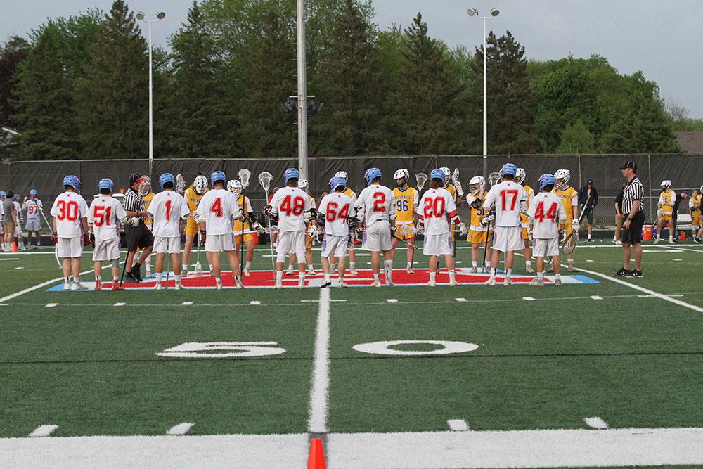 Arrowhead Boys Lacrosse at center field