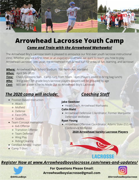 LAX Youth Camp